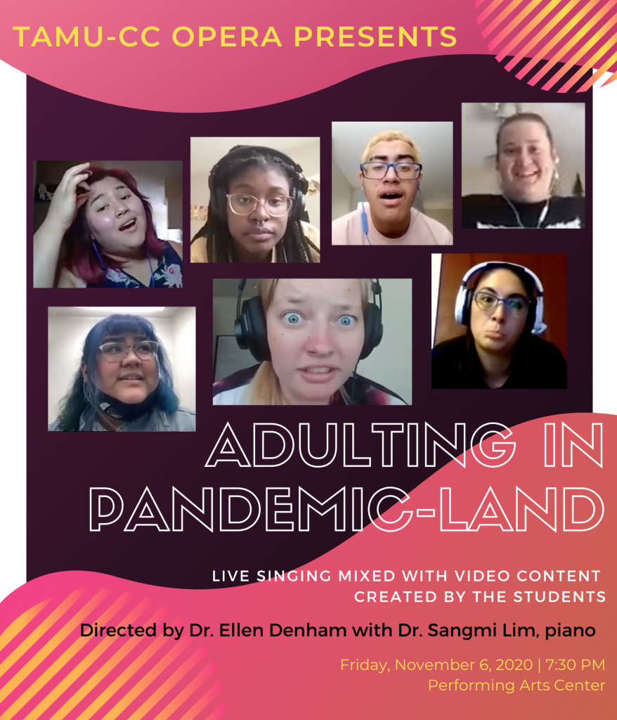 Adulting in Pandemic-Land flyer